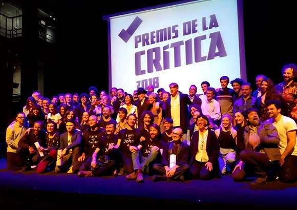 Els guanyadors dels Premis de la Crítica 2018