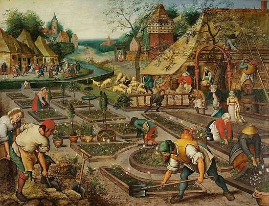 La primavera, de Pieter Brueghel