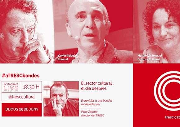 #aTRESCbandes 'El sector cultural, el dia després'