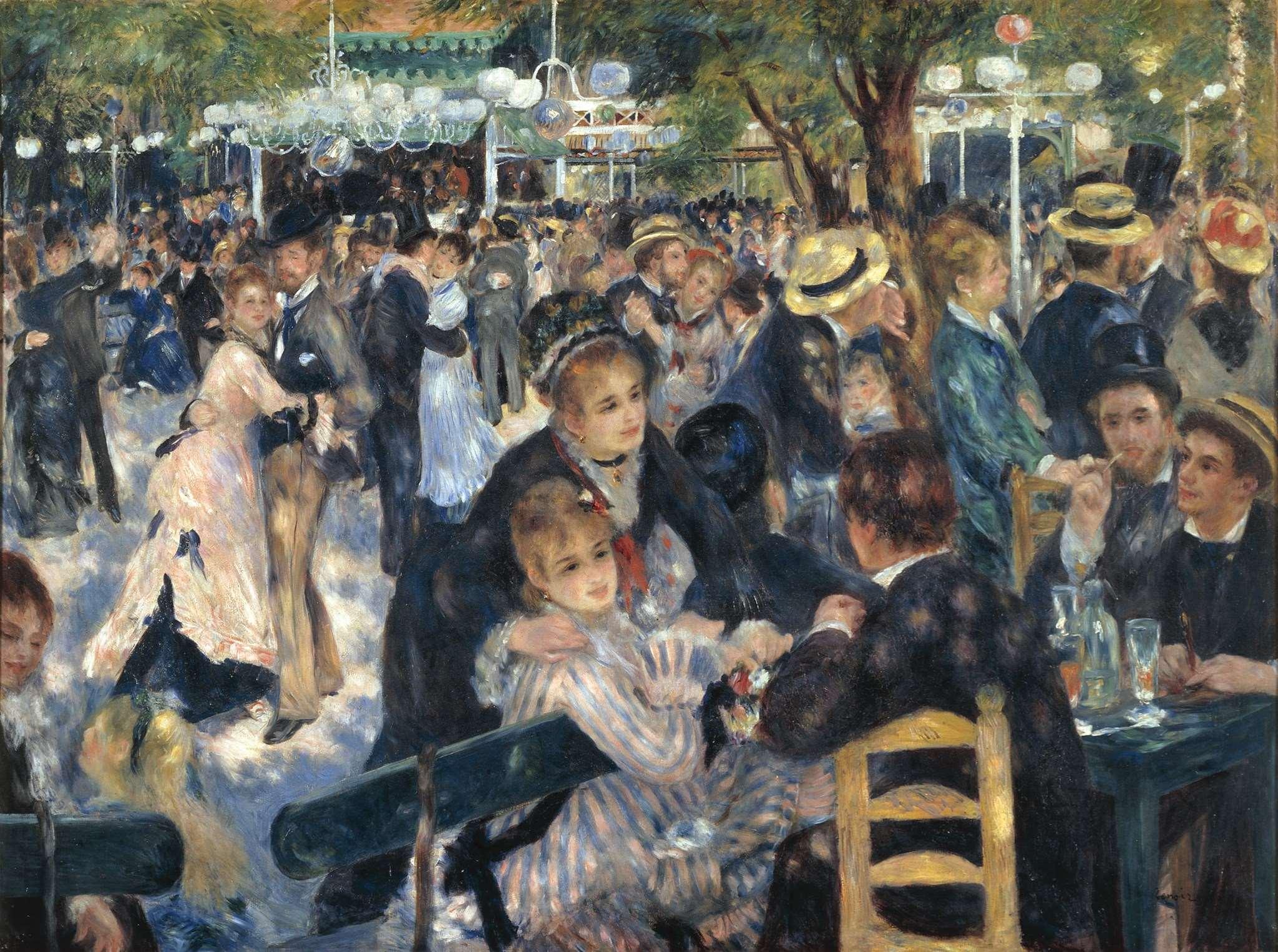 'Ball al Moulin de la Galette', de Pierre-Auguste Renoir