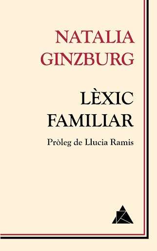 'Lèxic familiar' · Natalia Ginzburg