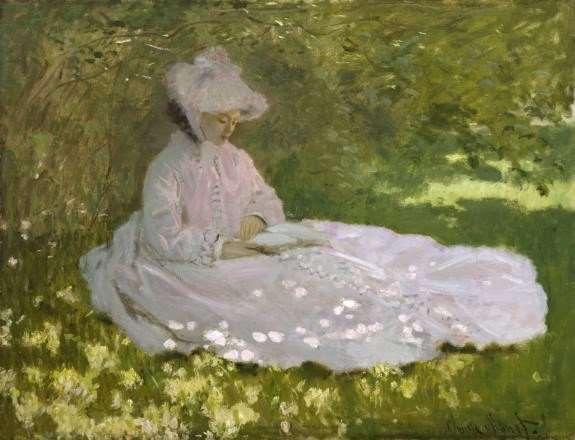 Temps de primavera, de Claude Monet