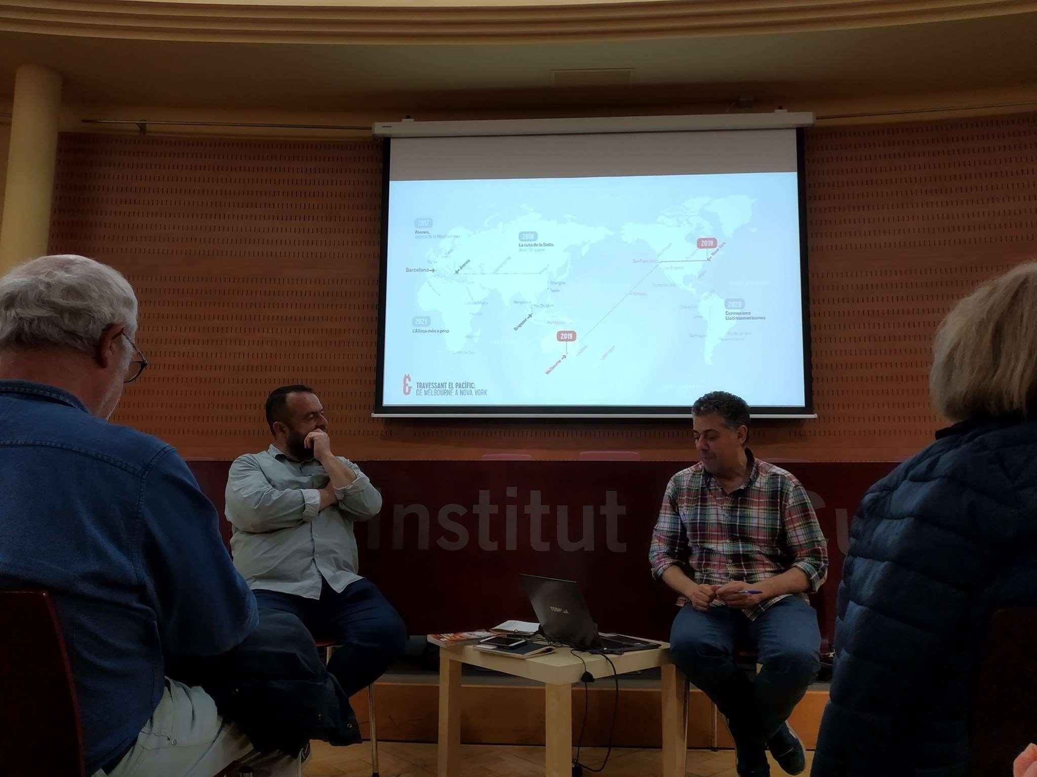 Presentació del Grec 2019 amb el director Cesc Casadesús