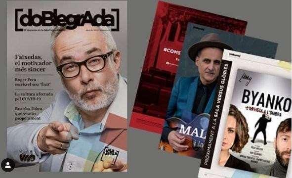 Sala Versus · Magazine Doble Grada