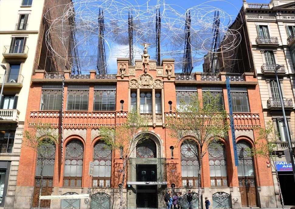 """""""Aproximacions"""" a la Fundació Antoni Tàpies"""
