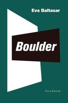 'Boulder', d'Eva Baltasar (Club Editor)