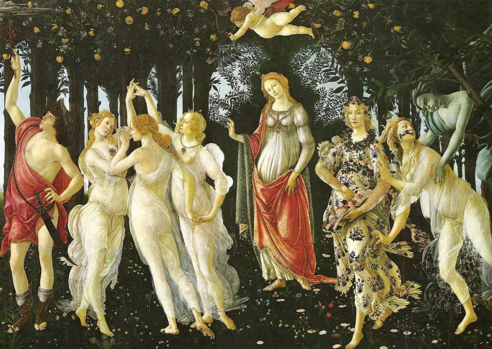 La primavera, de Sandro Botticelli