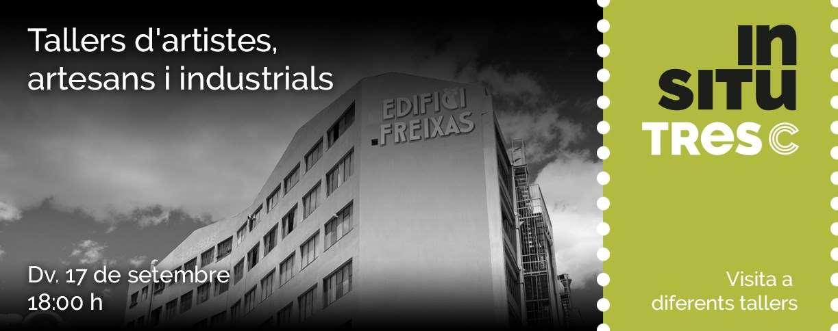 El Districte Cultural de L'Hospitalet ens obre les portes de l'Edifici Freixas