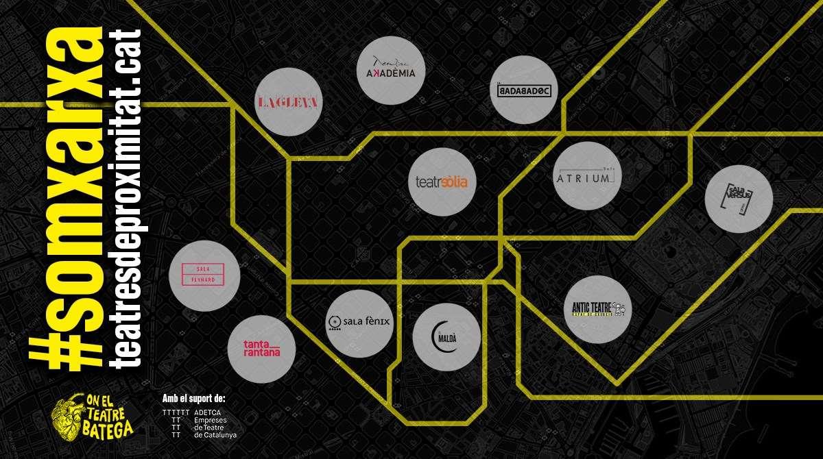 #SomXarxa - La nova iniciativa dels Teatres de Proximitat