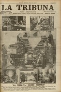 <p>Front page of<em> La Tribuna. </em>Wednesday 10 April 1912<em> &copy; </em>City of Barcelona Historical Archive</p>