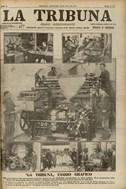 <p><em>Portada del diari La Tribuna. Dimecres 10 d'abril de 1912 © Arxiu Històric Ciutat de Barcelona</em></p>
