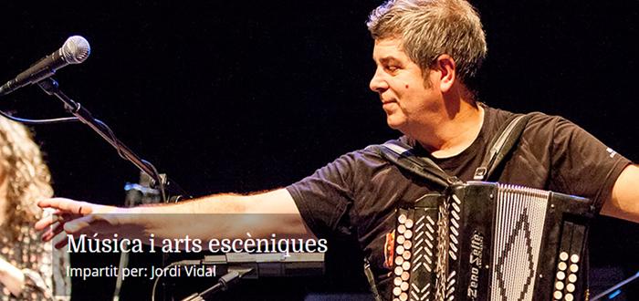 Curs d'Especialització de l'IEFC: Música i arts escèniques