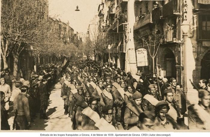 Girona. La repressió del primer franquisme