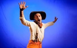 El cowboy de la trista figura (cicle SomRiures, cicn setmanes de humor gestual)