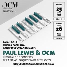 Paul Lewis & OCM · Integral dels Concerts per a piano i orquestra de Beethoven