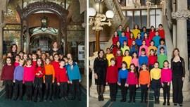 Cors de l'Escola Coral de l'Orfeó Català: Daltabaix a la ciutat