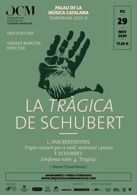 La Tràgica de Schubert + el Triple de Beethoven · Andrea Marcon & OCM