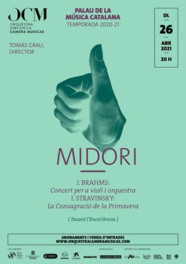 El Concert de Brahms + La Consagració de la Primavera · Midori & OCM