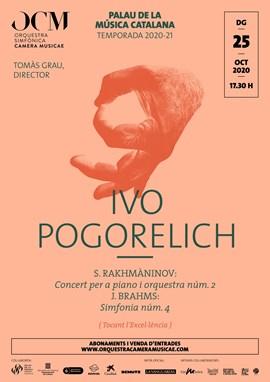 Rakhmàninov 2 + la 4ª de Brahms · Ivo Pogorelich & OCM