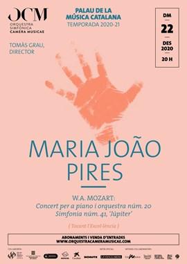 Maria João Pires & Mozart · Concert núm. 20 + Simfonia 'Júpiter' de Mozart