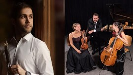Sergio Pires, clarinet   Trio Orion