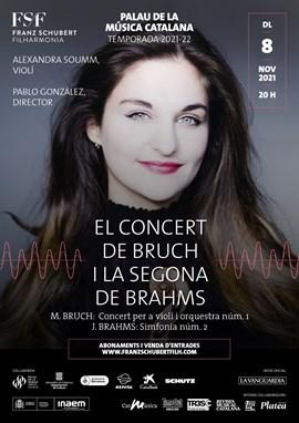 El Concert de Bruch + La Segona de Brahms | Pablo González & Alexandra Soumm & Franz Schubert Filh