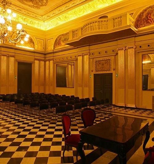 Teatre Municipal, Saló de descans